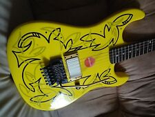 ANDY WARHOL TRIBUTE POP ART DECO GRAPHIC Electric Guitar + CHANDLER & Floyd Rose