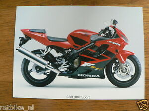 H492 HONDA  PHOTO MOTORCYCLE CBR 600F SPORT MOTORRAD BIKE