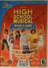 HIGH SCHOOL MUSICAL DVD GAME Sing Dance Act Play Perform Every Song Every HSM