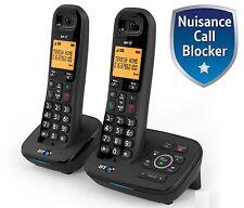 BT 1700 TWIN DIGITAL CORDLESS TELEPHONE & ANSWER PHONE & CALL BLOCKER