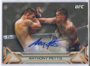 2016 TOPPS UFC KNOCKOUT ANTHONY PETTIS AUTOGRAPH /199