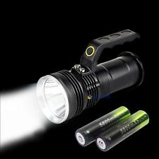 8000LM CREE XML T6 Searchlight LED Flashlight Handheld Torch + 18650 Battery MT