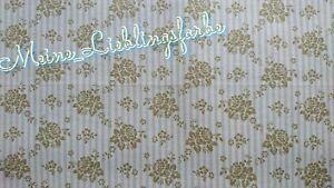 Baumwolle Meterware Vintage Tilda Emily Green Emily grün Blumen flowers 12€/m