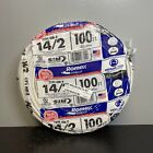 Southwire Solid Romex SIMpull CU NM-B W/G Wire 100-Ft 14/2