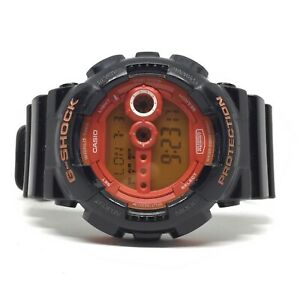 Casio G-Shock Hyper Colors Watch Rare Limited Edition GD-100HC World Time Diver