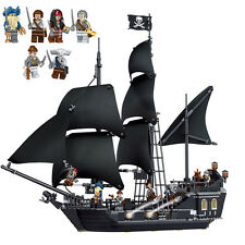 THE BLACK PEARL PIRATES OF THE CARIBBEAN PIRATES SHIP Building toys 804pcs new