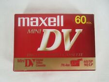 Maxwell Mini DV Digital Video Cassette 60 Min