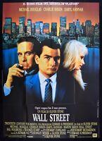 M223 Manifesto 4F Wall Street Oliver Stone Micheal Douglas Sheen