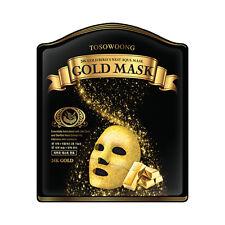 [TOSOWOONG] 24K Gold Bird's Nest Aqua Mask - 1pack (5pcs)