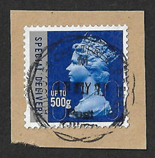 GB 2010 Royal Mail Special Delivery up to 500g stamp used date MA10 SG U3052