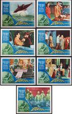 ATRAGON TOHO SCIENCE FICTION 1965 SEVEN LOBBY CARDS NEAR MINT