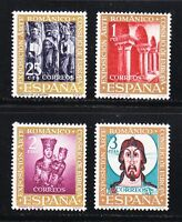Spain 1961 MLH Mi 1260-1263 Sc 1004-1007 Compostela Cathedral,Christ,religion