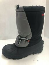 Columbia Mens Snow Boots Winter Shoes Warm Size US 6Y Black
