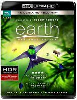 Earth: One Amazing Day (4K Ultra HD + Blu-ray, 2018, BBC Earth, Robert Redford)