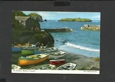 John Hinde Postcard General View  The Harbour Mullion Cornwall unposted
