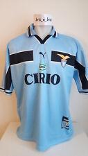 maglia shirt jersey LAZIO 99-00 puma home XXL tutta in trama N0 match worn