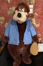 "Disney Splash Mountain Briar Brer Bear18"" Plush 2021 with Tag"