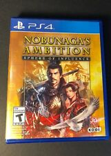 Nobunaga's Ambition [ Sphere of Influence ] (PS4) USED