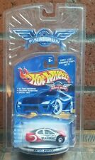 HOT WHEELS FINAL RUN RARE POLICE ULTRALITE  MINT ON CARD Free Shipping!!!!!!