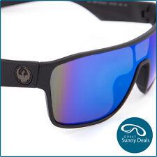 Dragon Tolm Sunglasses in Matte Black Blue Ionised