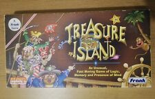 Vintage Treasure Island Board Game By Frank Games 100%complete VG Condition.