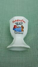 Paddington Bear Egg Cup 'Wake me for breakfast' vintage collectable 1991