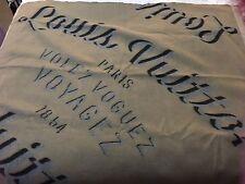 100% Authentic LOUIS VUITTON Wool Cashmere Throw Blanket Scarf NIB