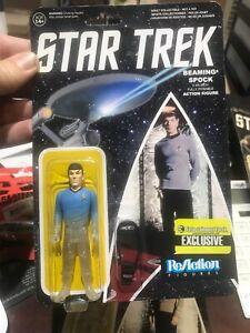 STAR TREK action figure Beaming Spock ReAction brand New