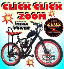 "2-Stroke 66cc/80cc Motorized Bike Kit With 26"" Bike Higher Performance"