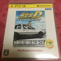 PS3 Initial D EXTREME STAGE BEST SEGA Games from Japan Play Station 3 USED