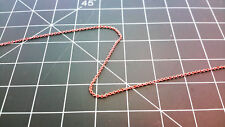 """HO/HOn3/N Scales Brass Model Chain 28 Links Per Inch """"SOLD BY THE FOOT"""" Item #0"""