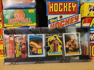 1985 Topps WWF Wrestling Rack Pack BBCE Authentic Hulk Hogan Rookie on Top Snuka