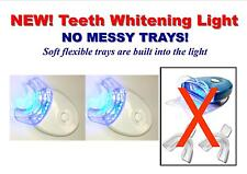 TWO NEW LED BLUE LIGHTS ACCELERATOR WHITE LIGHT @NO MESSY TRAYS @ FREE SHIPPING!