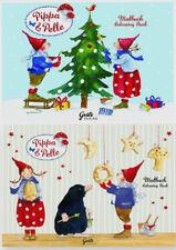 *DANIELA DRESCHER*Weihnachten*Malbuch*Pippa&Pelle*DIN A7 & A5**