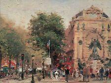 Paris, St. Michel - Plein Air Collection France - Thomas Kinkade Dealer Postcard