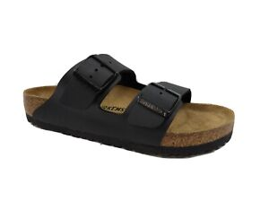 Birkenstock Arizona BS Black Slides Sandals Women's Size 8 US MSRP $100