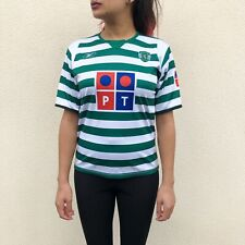 Vintage Sporting Lisbon CP Reebok Football Shirt 2004-2005