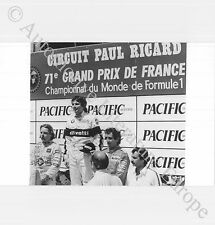 1985 NELSON PIQUET / KEKE ROSBERG / ALAIN PROST F1 PRESS PICTURE BILD ORIGINAL