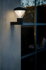 LIGHT OUTDOOR LED WALL LAMP ARCHITECTURAL IP44 10W 3000K WARM WHITE FARO 75536