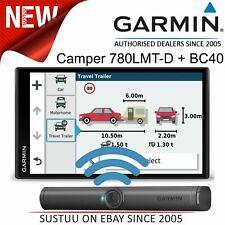 Garmin Camper 780LMT-D GPS Sat Nav+BC40 Wireless Camera│Lifetime Maps+Traffic
