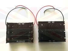 Nuevo plástico de la batería de almacenamiento Funda Soporte Caja De 3 X 18650 paralelo acuerdo 3.7 V