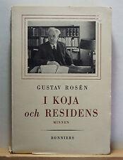 I Koja och Residens Minnen 1943 Gustav Rosen - History Sweden Vasterbottens Umea