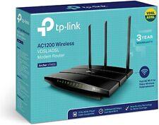 NEW TP-Link AC1200 Wireless Dual Band VDSL/ADSL Modem Router Archer VR400