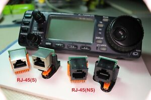"""RJ-45(S) alternative to the """"OPC-581 Separation Cable"""" for the ICOM IC-706"""