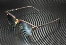 RAY BAN RB3016 114530 Clubmaster Sand Havana Gold Green Silver 51 mm Sunglasses
