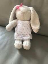 Tesco F&F Bunny Rabbit Floral Dress Baby Girls Comforter/Soft Toy
