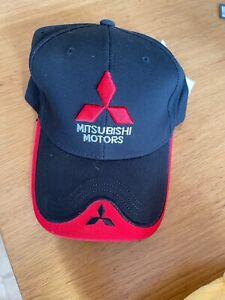 Mitsubishi Motors Baseball Cap Racing Outdoor Hat Adjust Adult