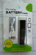 Brite Concepts Portable Backup Battery Power Pack Includes USB Micro Cable