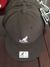 New Authentic  Kangol Cap - Brown 100% Wool - Size 7 Fitted = Small