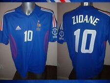 France Adidas Adult XL Zidane Football Soccer Shirt Jersey Vintage Real Madrid 2